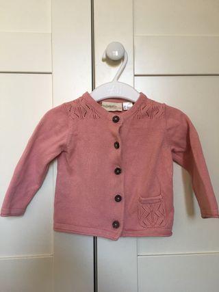 Jersey niña rosa de Lupilu, talla 68, 0-6 medes