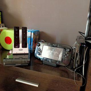 Consola Wii más Wii U
