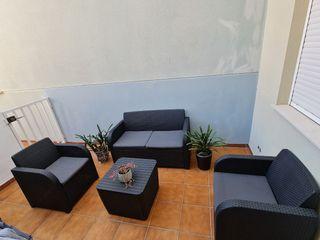 Set de Terraza y mueble orgqnizador