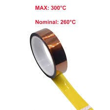4uni. kapton tape 15mm. x 33m.