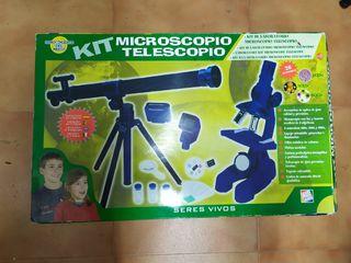 Microscopio y Telescopio kit