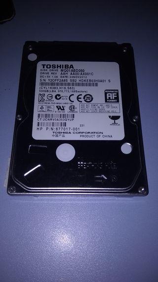 DISCO DURO TOSHIBA 500Gb