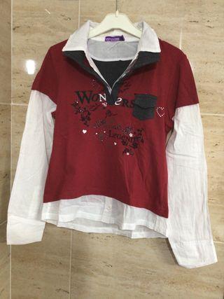 Camiseta niña talla 10-12 años