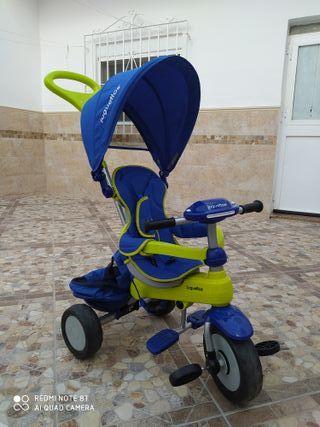 Triciclo bebé carrito