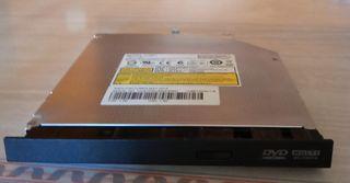 disquetera lector, grabador DVD portátil