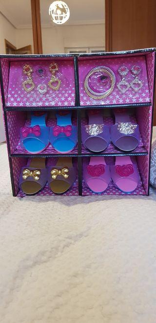 Zapatos disfraz niña nuevo