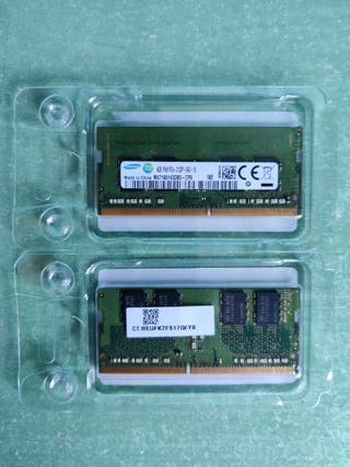 8 GB RAM DDR4 para portátil (2×4)