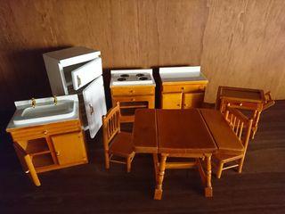 Cocina casa de Muñecas