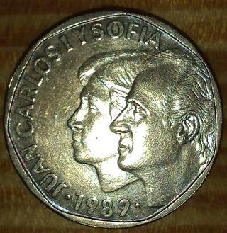 MONEDA 500 PESETAS 1989