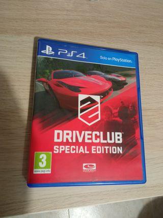 Drive Club Edición Especial Ps4
