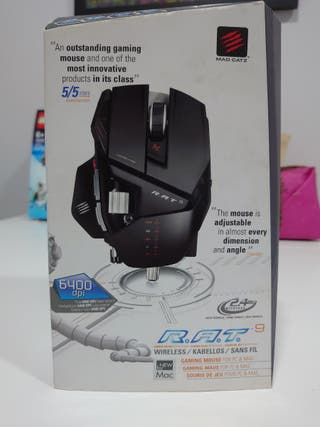 Mad Catz R.A.T 9 mouse gaming inalámbrico