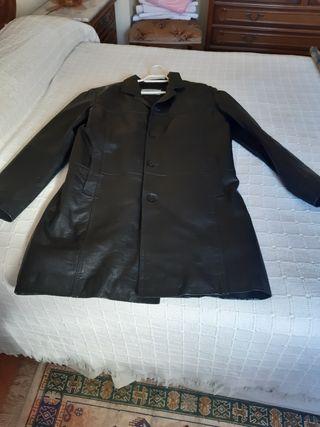 abrigo de piel hombre