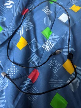 Cable cargador móvil magnético tipo c