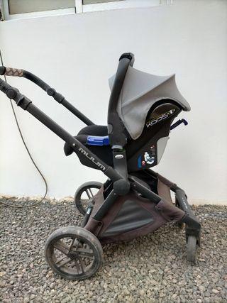 carro bebé Jané muum 3 piezas