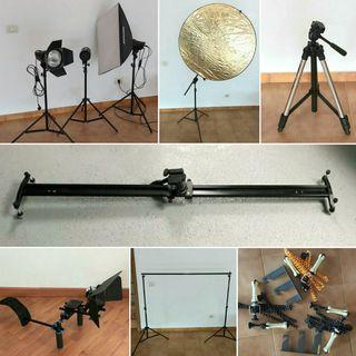 oferta pack material fotografía y vídeo