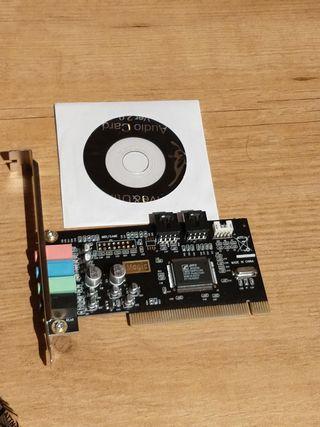 Tarjeta de sonido PCI