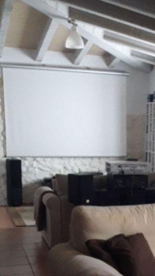pantalla cine enrollable para proyección