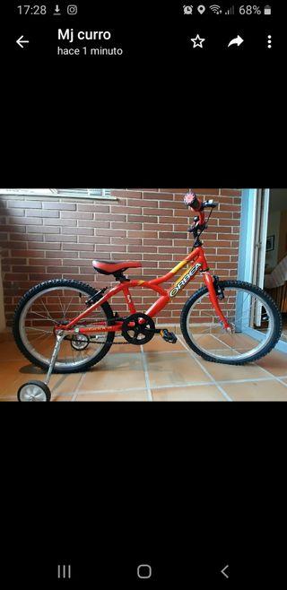 Bicicleta Orbea modelo Rocker