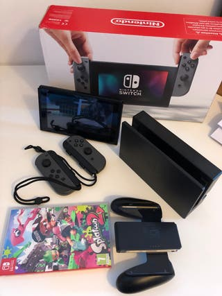 Nintendo Switch Gris + Splatoon 2