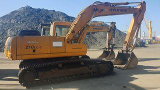 Retroexcavadora Excavadora Hyundai Robex 210 LC-3