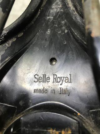 Sillín selle royal