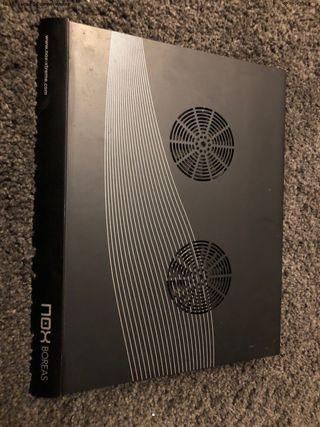 Ventilador portátil aluminio NOX