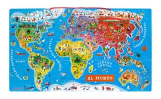 Atlas mundial magnético Mapamundi