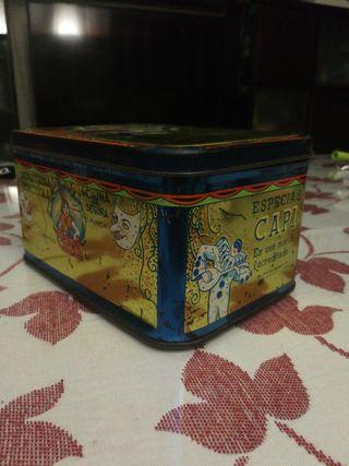 Caja antigua coleccionismo. Industrial Hortícola.