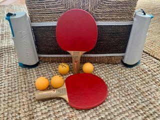 Set de Ping Pong con red de mesa