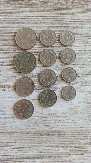 Monedas Suizas