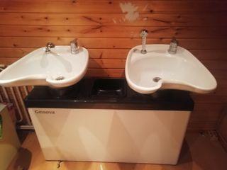 lavacabezas doble