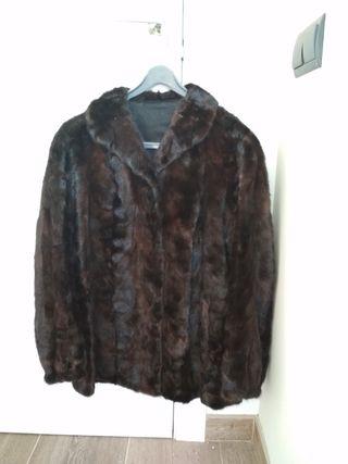 Abric de pell / abrigo de piel