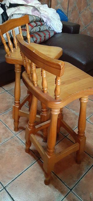 4 sillas altas