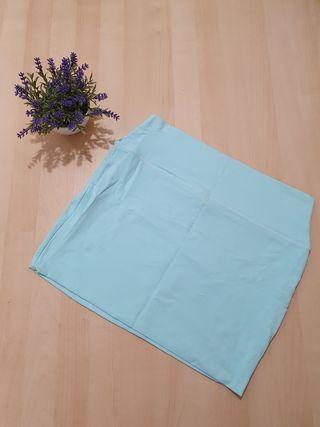 Falda azul claro de Primark
