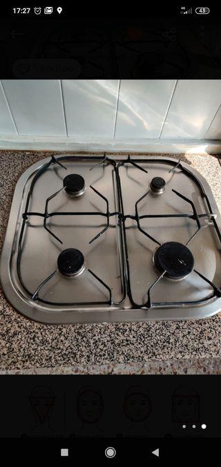 Placa cocina gas natural
