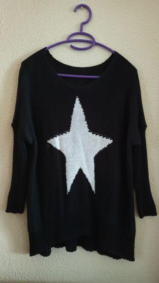 jersey negro estrella
