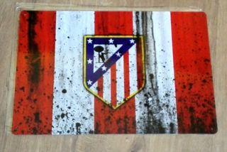 Cartel decoración Atlético de Madrid