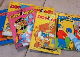 Lote 3 comics Don miki