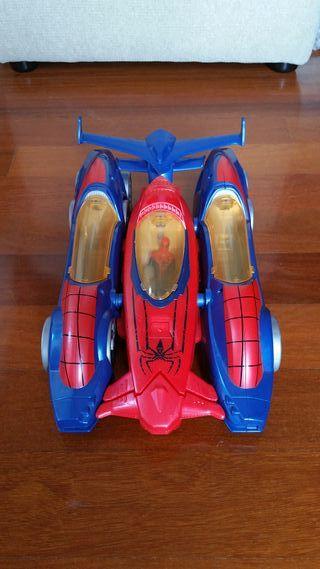 Coche de spiderman modular