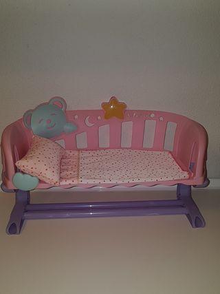 Cuna Nenuco duerme conmigo.