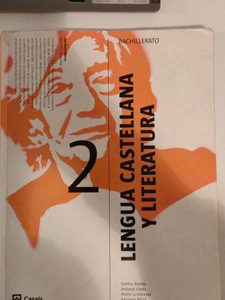 Libro lengua y literatura segundo de bachillerato