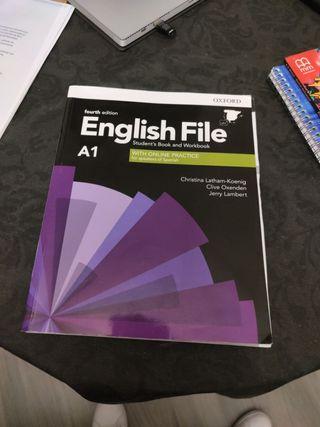 English File A1 Libro inglés Marca Oxford