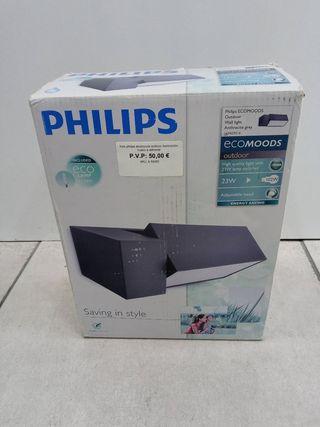 foco philips ecomoods outdoor iluminacion nuevo a