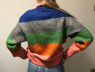 Jersey multicolor de rayas