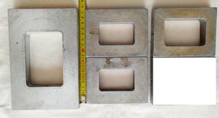 Marcos aluminio microfusión