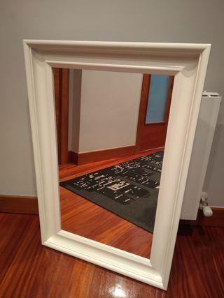 Espejo blanco 60x90