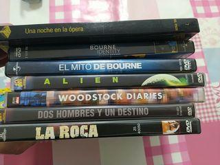 películas originales en CD