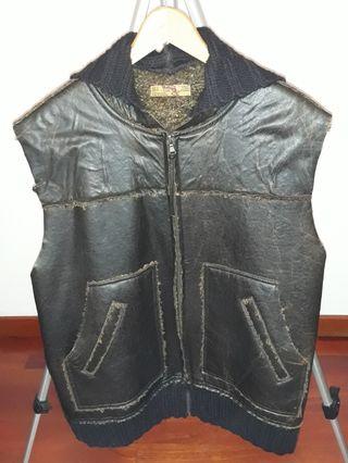 abrigos y chalecos de piel hombre