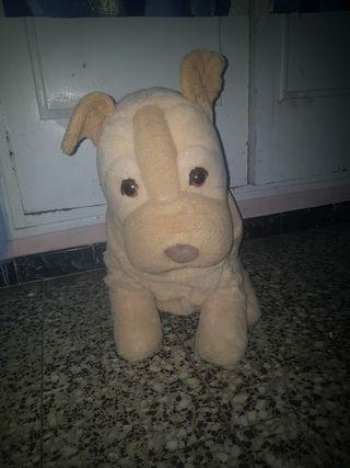 Peluche perro grande