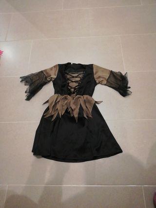 disfraz bruja niña 2-4 años
